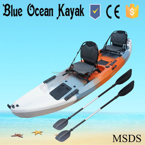Blue Ocean kayak/double person kayak sale /cheap fishing kayak