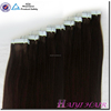 Full Cuticle High Quality Grade 7a Double Drawn Tape Hair Skin Weft