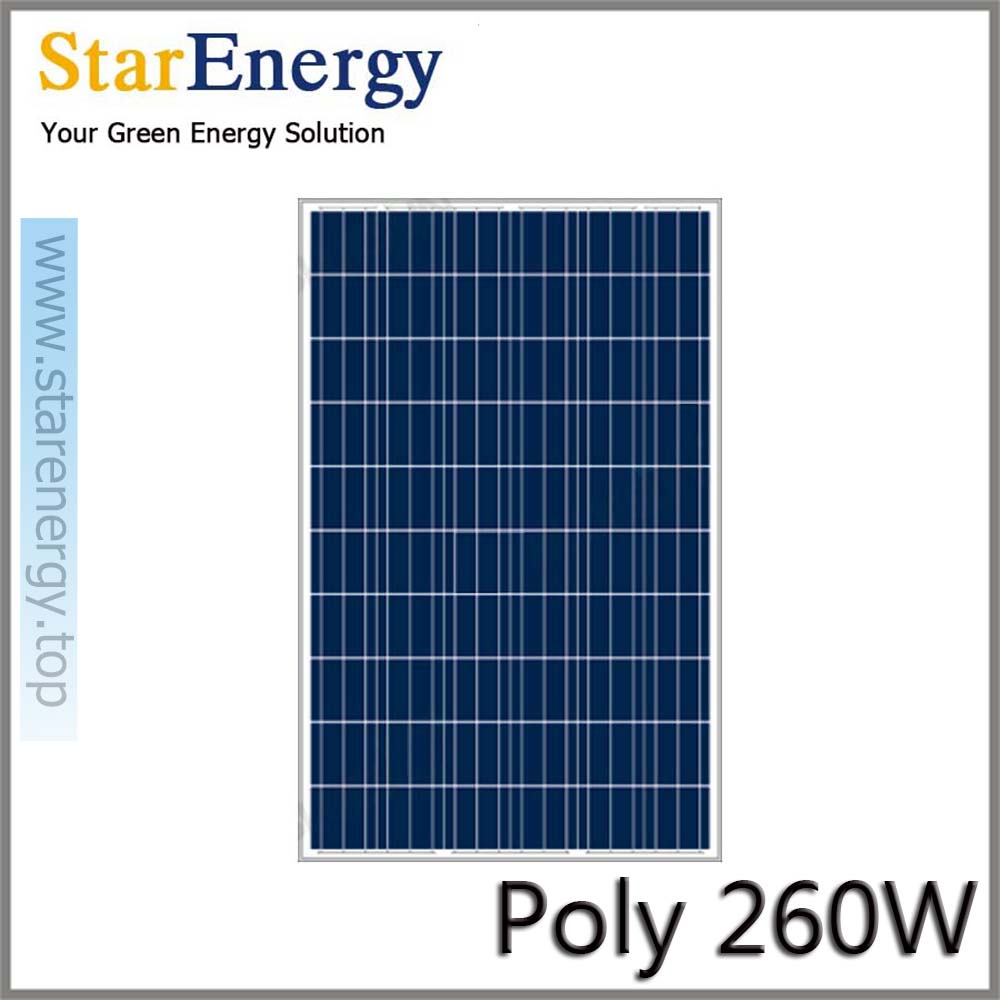 260 watt poly solar <strong>panel</strong> for solar power system