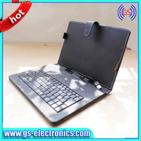 Tablet keyboard case keyboard case 11.6 inch tablet pc leather keyboard case