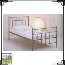 Cheap used wrought industrial metal bed for sale
