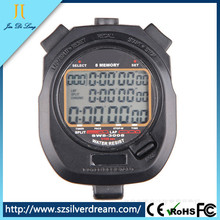 New Stopwatch SW8-3008 Digital Chronograph 1/100 second Sports stop watch handheld Counter timer 3 row 8 memories Lap split