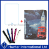 Bundlekit With Screen Guard London Bus Design Tablet Case
