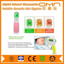 Fast respond instant read electronic infrared thermometer