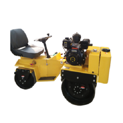 Used asphalt rollers two-drum road construction machinery for sale