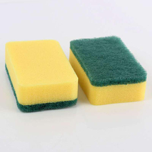 Cordless powerful sponge wet scrubber for kitchen