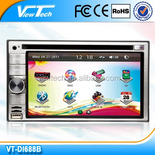 6.2 inch Universal In Dash Car DVD GPS Player