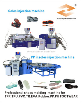 PVC sole making machine