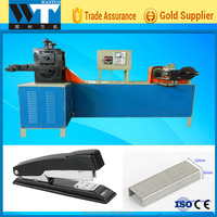 High quality & Automatic office stape pins and Wire nail making machine line Wire staple pins making machine