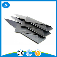 Mini foldable pocket plastic credit card knife business card cutter