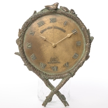 New design antique gold decorative wall clock
