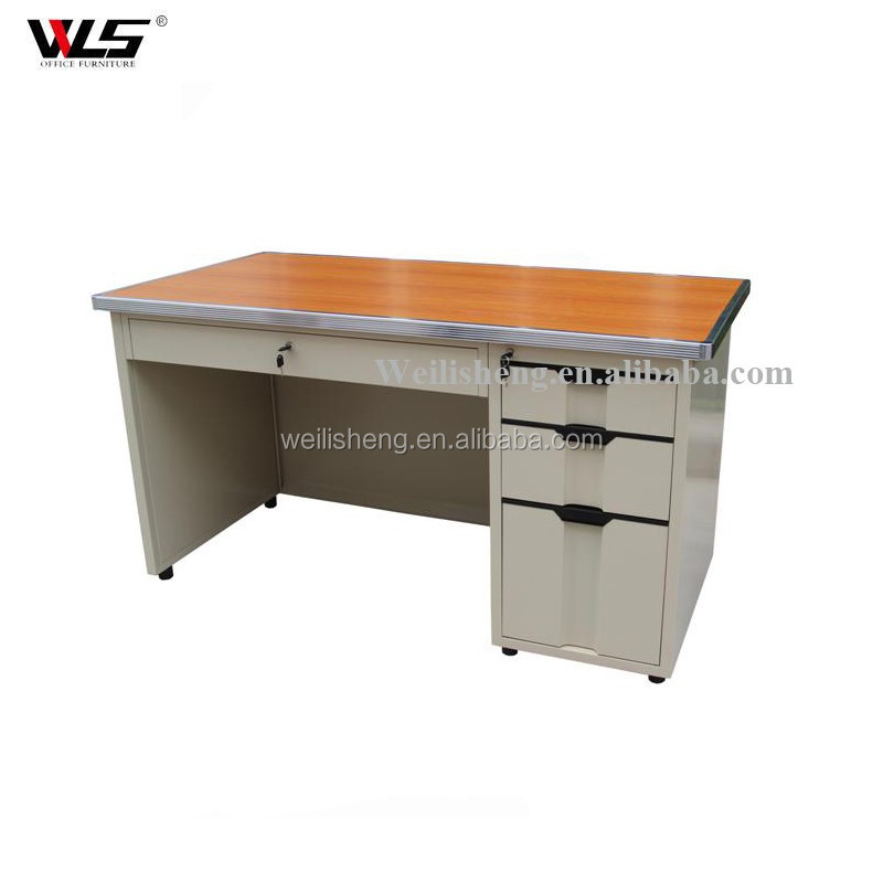 Stainless steel glass computer table designs for small room maple computer desk