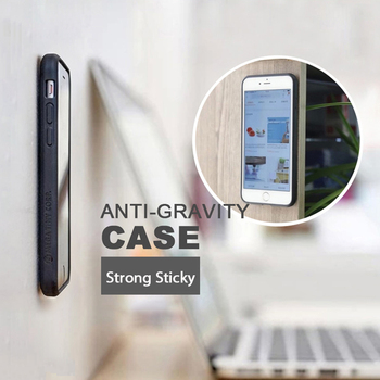 Best selling 2017 magic sticky anti gravity case for Samsung Note 3/4/5/7/S6/S6 Edge/S6 Edge plus/S7/S7
