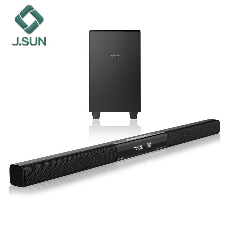 2017 hot selling 5.1 Optical Input tv bluetooth soundbar subwoofer speakers