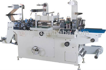 Automatic Flat-bed Label Die-cutting Machine