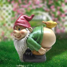 small sexy garden polyresin gnome figurines