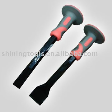 Rubber handle Stone chisel
