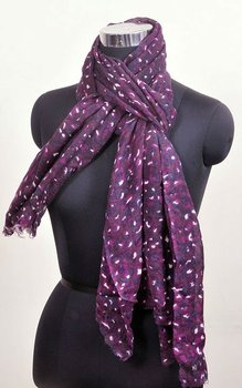 100% silk wool contemporary printed scarfs
