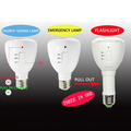 manufacture in china AC/DC rechargeable LED regular and emergency lamp bulb