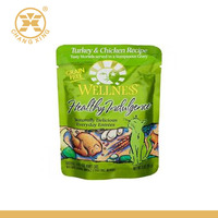 Stand Up Food Pouch Packaging Bag For Chicken Rrecipe Strong OPP CPP laminated Material-T237