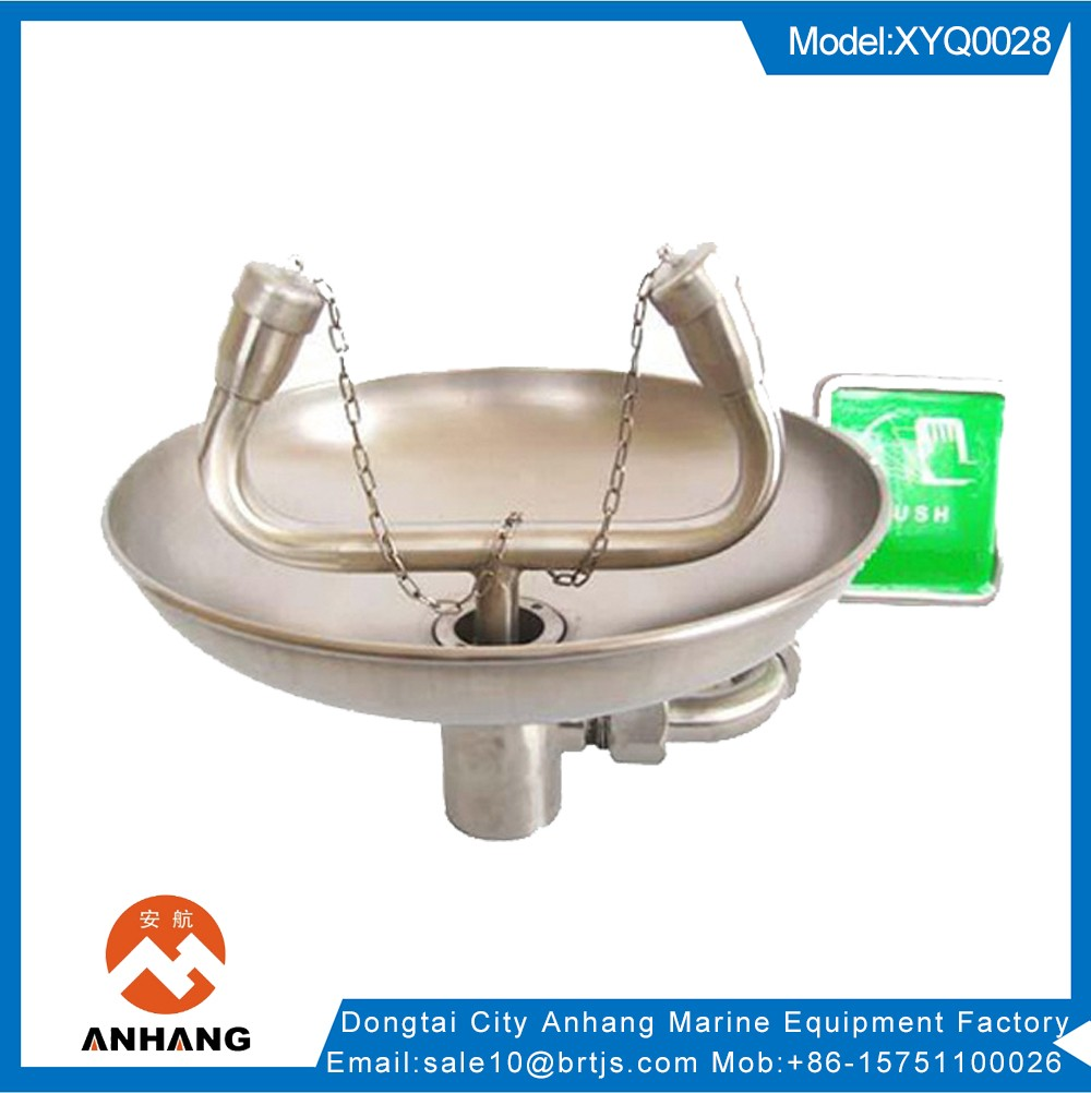 Stainless steel Wall mounted emergency eyewash station