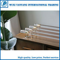 Custom multi-style high quality clear drapery acrylic rod