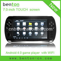 7.0 inch capacitive touch screen mp3 mp4 mp5 player with android 4.0 OS(BT-P604)
