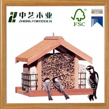 Trade assurance bird houses and feeders wood carved bird houses OEM pigeon house