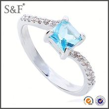 HOT SELLING!!! Newest Style Crystal pt900 diamond ring