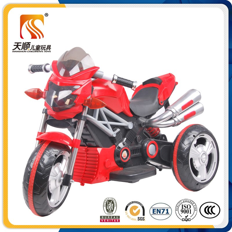 New PP Plastic Electric Kids Motorcycle Bike for kids