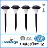 Cixi landsign outdoor garden cheap solar light series solar lamp ground stake for garden cheap solar light