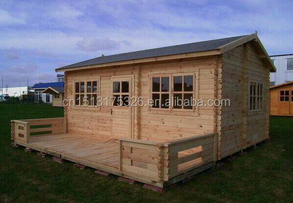 2015 latest prefabricated wood house for sale China supplier