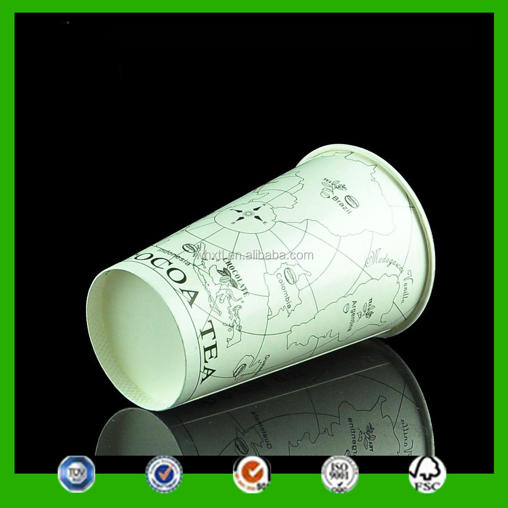 eco-friendly big paper cup 22oz paper cup for hot drink from wuhan