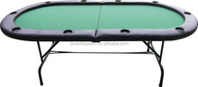 2 foldable and easily movable cheap poker tables