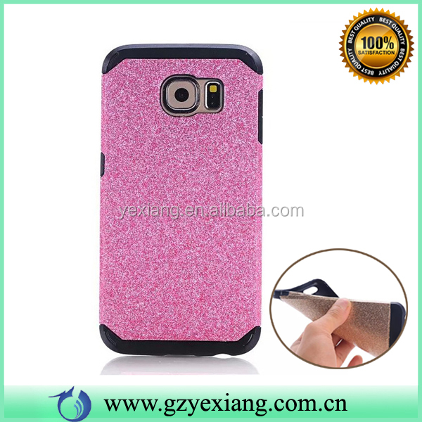 Cell Phone Bling Glitter Skin Armor TPU Back Cover Case For Samsung Galaxy S5