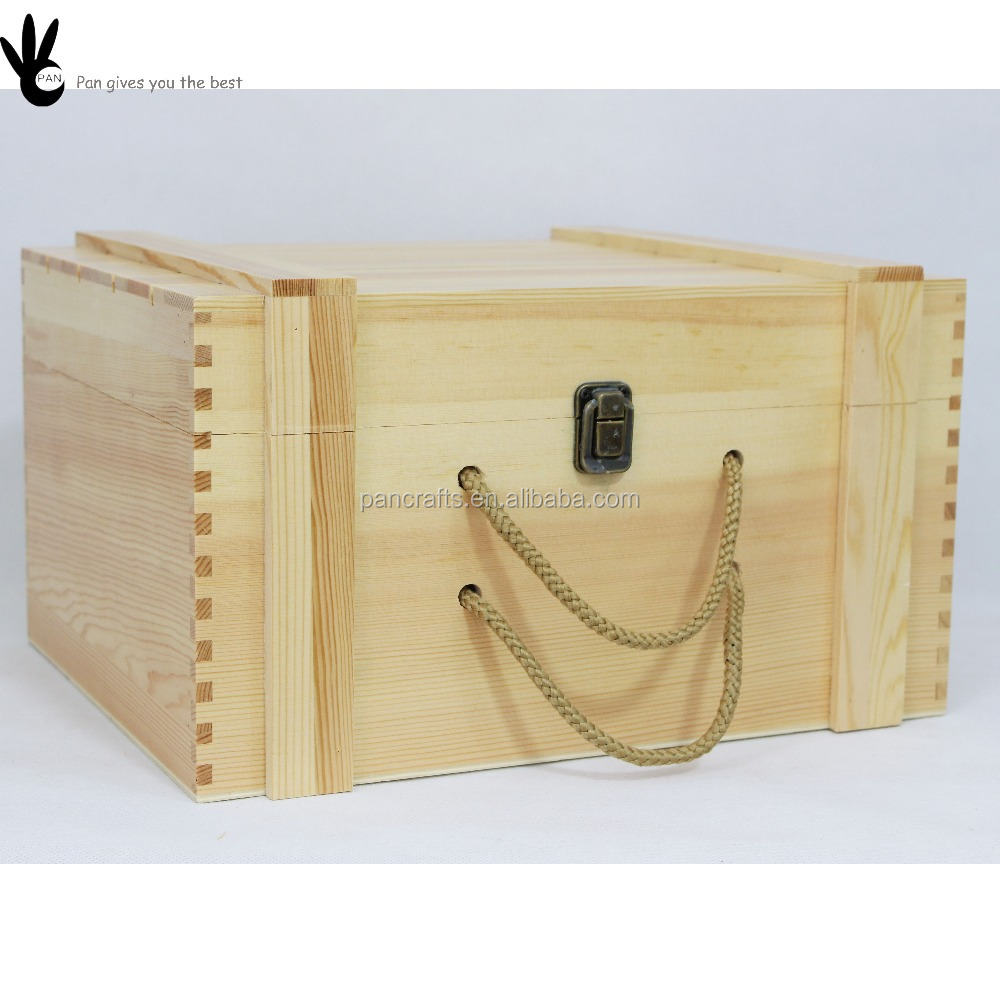 Pan high quality packaging use cheap wooden wine box for for Uses for wooden boxes