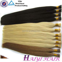 bohemian remy human hair extension 0.5mm mini i tip virgin hair