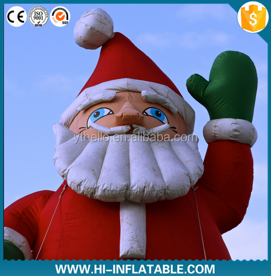 2014 hot selling giant inflatable christmas father,inflatable christmas santa claus