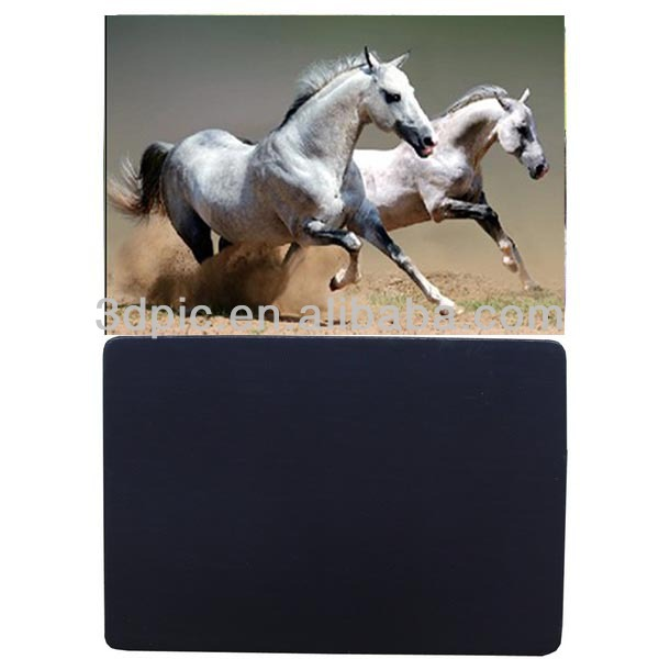 Hot selling horse painting 3d effect fridge magnet
