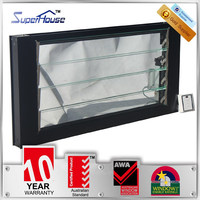 superhouse Electric adjustable glass louvre window with AS2047 standard
