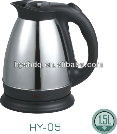 PROMOTION 1.2L stainless steel electric kettle(HY-05)