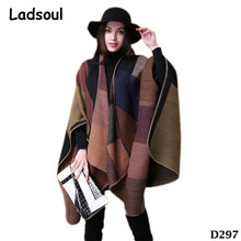 Travel Shawl Imitation Cashmere Ethnic Wind Thick Vent Scarf Women