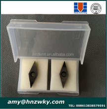 VBGW VBMW CNC Solid PCBN Indexable Grooving Thread Turning Inserts
