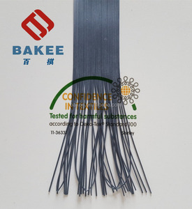 Extruded Talcum Coated Rubber Latex Thread Of Black Colour