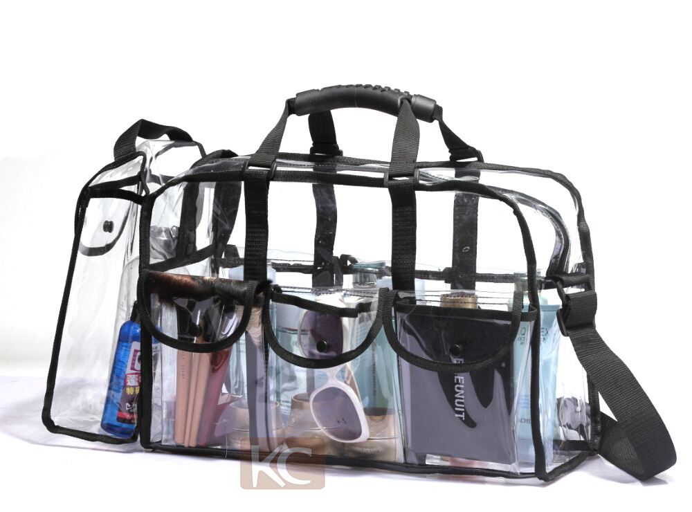 high quality packaging fashion small zipper waterproof mini transparent clear pvc cosmetic bag