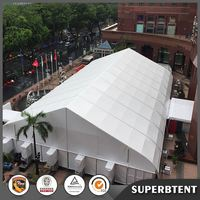 20m span width waterproof fireproof warehouse tent for storage