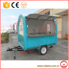 Favorable mobile food cart kiosk van trailer for sale sale coffee cart trailer
