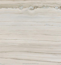 Polished White marble With Blue Vein Stone for