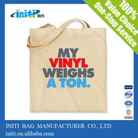 2014 cotton shopping bags Wholesale cotton tote bag 100% cotton canvas tote bags