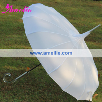 Vintage UV Protect White Lady Umbrella Wholesale